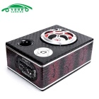 "carroKING 6 ""carro Motocicleta montada Bluetooth Baixo Speaker - preto"