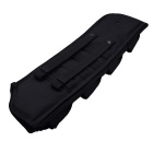 Outdoor War Game Hunting Nylon Gun Holster Bag for AK47 - Black