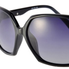 Senlan 9504C1 Women's Polarized Sunglasses - Black + Grey