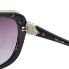 Senlan 9506C1 Women's Polarized Sunglasses - Black + Grey