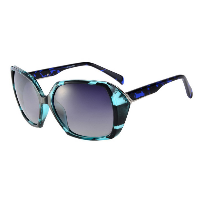 Senlan 9504C2 Women's Polarized Sunglasses - Blue + Grey