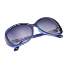 Senlan 9503C2 Women's Polarized Sunglasses - Blue + Grey
