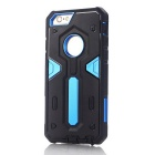 TPU + PC Back Case for IPHONE 6S/6 - Black + Blue
