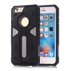 TPU + PC Back Case for IPHONE 6S/6 - Black + Gray