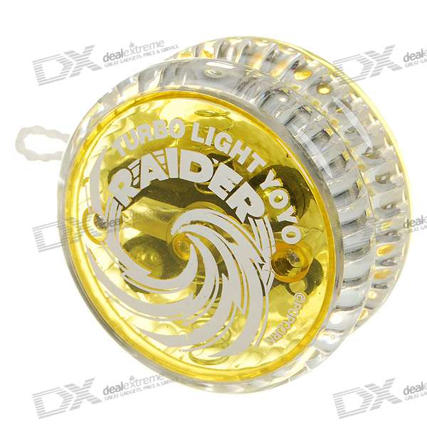RAIDER YO-YO Ball with Flashing Red Light (Color Assorted)