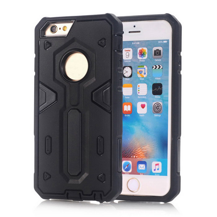 TPU + PC Back Case for IPHONE 6S/6 - Black