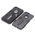 TPU + PC caso per iPhone 6S / 6 - nero