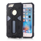 TPU + PC Back Case for IPHONE 6S/6 - Black + Navy Blue