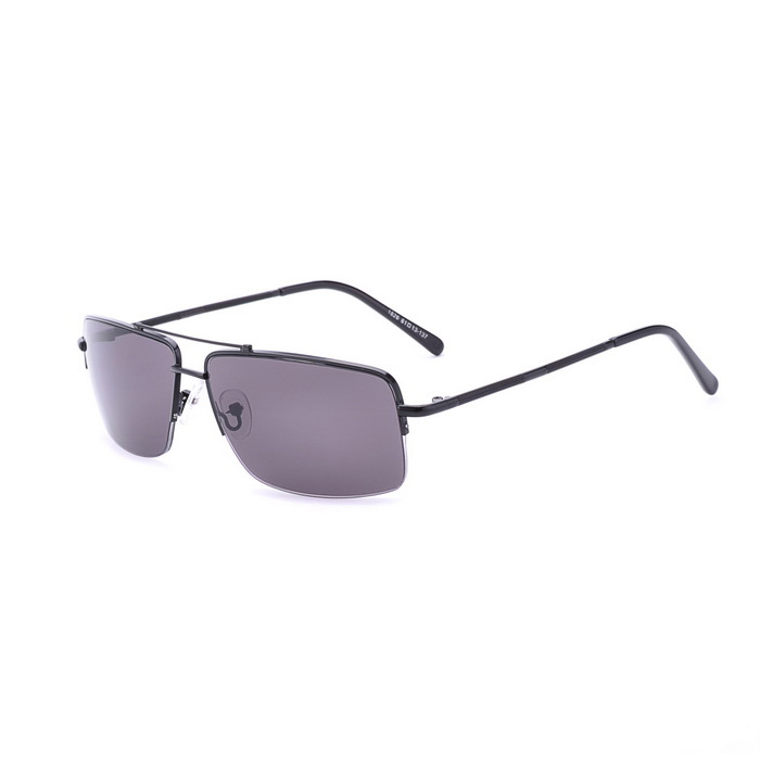 SENLAN 1826C1 Men's UV400 Protection Sunglasses - Black + Grey