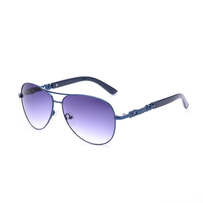 SENLAN 1808C3 Men's UV400 Fashion Sunglasses - Blue