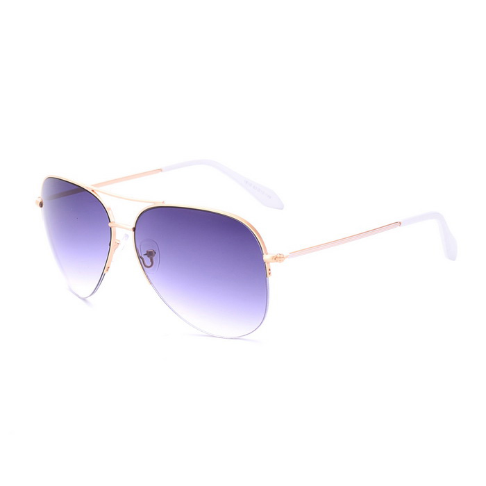 SENLAN 1810C2 Men's UV400 Protection Sunglasses - Golden + Blue