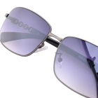 SENLAN 1819C2 Men's UV400 Protection Sunglasses - Gun Color + Blue