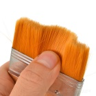6 # Soft Dust Cleaning / Paint Brush - Amarelo + Prata