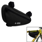 B-SOUL YA191 Nylon Triangle Bike Top Tube Bag - Black
