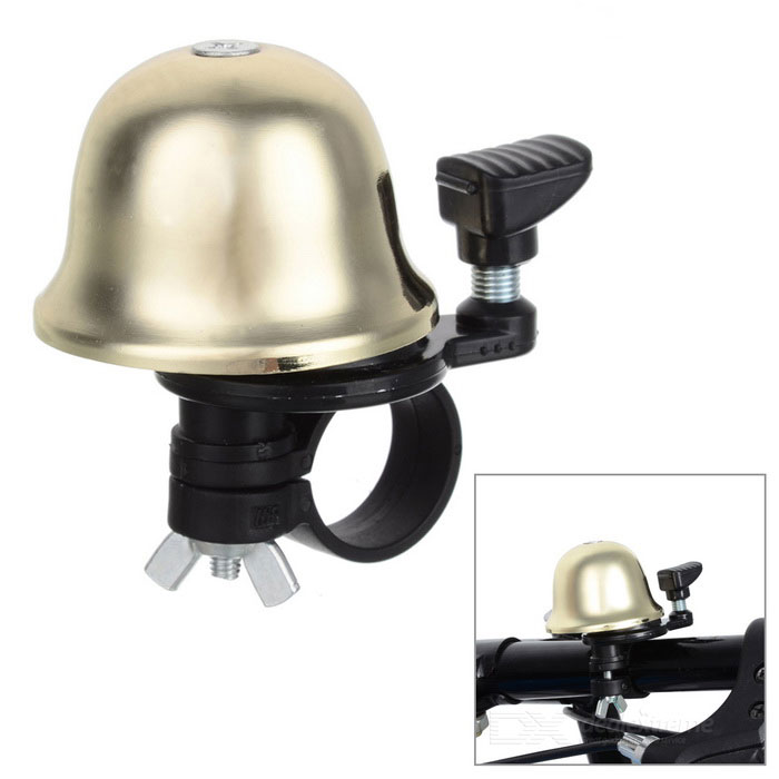 leadbike B10 Aluminium Alloy Bicycle Bike Bell - Gold + Black