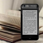"Inkcase 4.3 ""E-ink i6 Caso Screen Reader para iPhone 6 / 6S - Black"