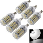 Youoklight E14 5.5W 96-SMD 5730 Maisbirnenlampe kaltes weißes Licht (6PCS)