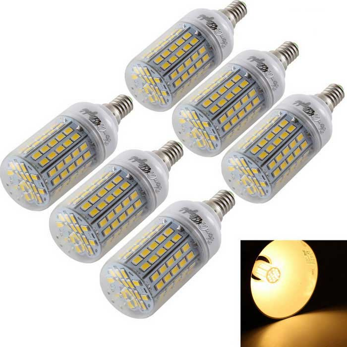 YouOKLight E14 5.5W LED Corn Bulb Warm White Light 96-SMD 5730 (6PCS)