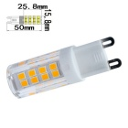 Jiawen G9 3W LED milho bulbo Warm White 300lm 51-2835 SMD (AC 220V / 5PCS)