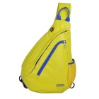 J18 Unisex Multifunctional Single Shoulder Backpack - Yellow (5L)