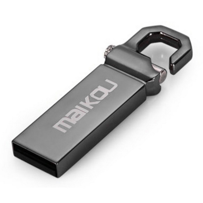 Maikou MK2204 USB 2.0 Flash Drive - Preto (8GB)