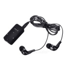 Wireless Stereo Dual 3.5mm Bluetooth Headset Music Receiver - Black