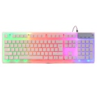 DU3 USB 2.0 LED Light Gaming Keyboard - White