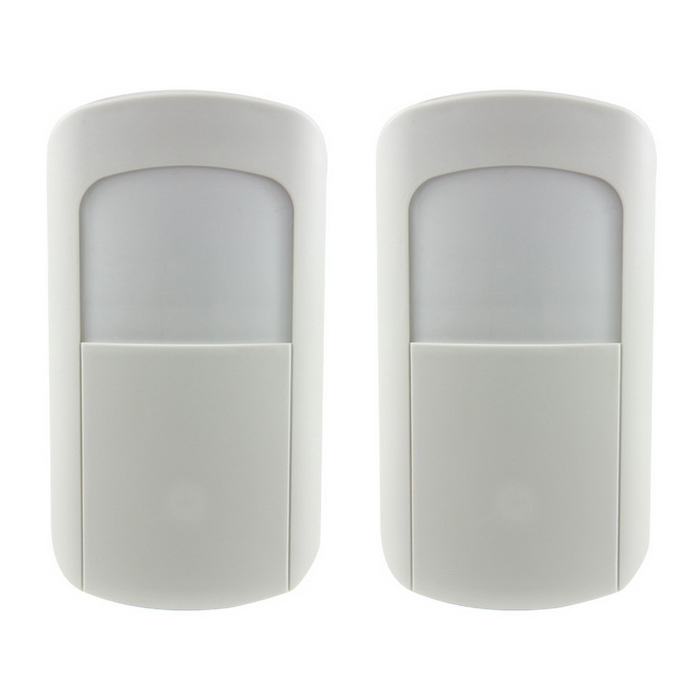 Ag-Security DP-08R 433MHz 1527 PIR Motion Detector - White (2PCS)