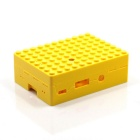 Protective Case w/ Camera Hole for Raspberry Pi - Yellow