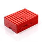 Protective Case w/ Camera Hole for Raspberry Pi - Red