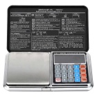 Portable 1kg/0.1g Multi-funcitonal Mini Digital Pocket Scale - Black