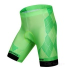 WOSAWE BC496-00M Cycling Short Jersey Top + Pants - Grass Green (M)