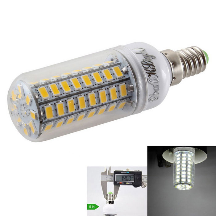 YouOKLight E14 4.5W LED Corn Bulb Lamp Cold White Light 72-SMD 5730