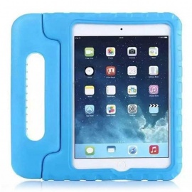 Shockproof Silicone Back Cover Case for Apple IPAD Mini 4 - Sky Blue