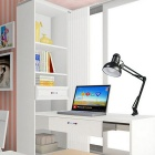 Jiawen E27 Clip-on Desk Light Reading Lamp w / o Source de lumière - Noir