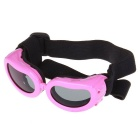 Fashion Outdoor Pet Dog Goggles UV Protection Sunglasses - Pink
