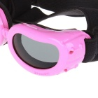 Muoti Outdoor Pet Dog Goggles UV-suoja aurinkolasit - Pink