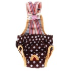 Fashion Cotton Cute Sanitary Pants with Straps for Dogs - Multicolored