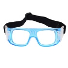 SCREW 3501C3 Basketball óculos Goggles - Azul Transparente
