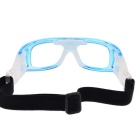 SCREW 3502C3 Basketball Glasses Goggles - Transparent Blue