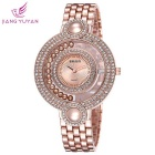 WeiQin 377603 Women's Analog Quartz Wrist Watch - Rose Gold