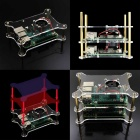 Multiple Case Special Acrylic Case for Raspberry Pi 3B - Transparent