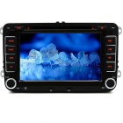 "Junsun 7"" Car DVD Player / GPS / Radio / Bluetooth - Black + Iron Grey"