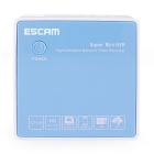 ESCAM K204 Mini 4-CH Network Video Recorder - White + Blue (US Plug)