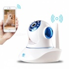 JOOAN 770MR-W Wireless Wi-Fi IP Camera - White + Blue (EU Plug)