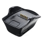 USB Charger Charging Dock for Samsung Galaxy Gear Fit R350 - Black