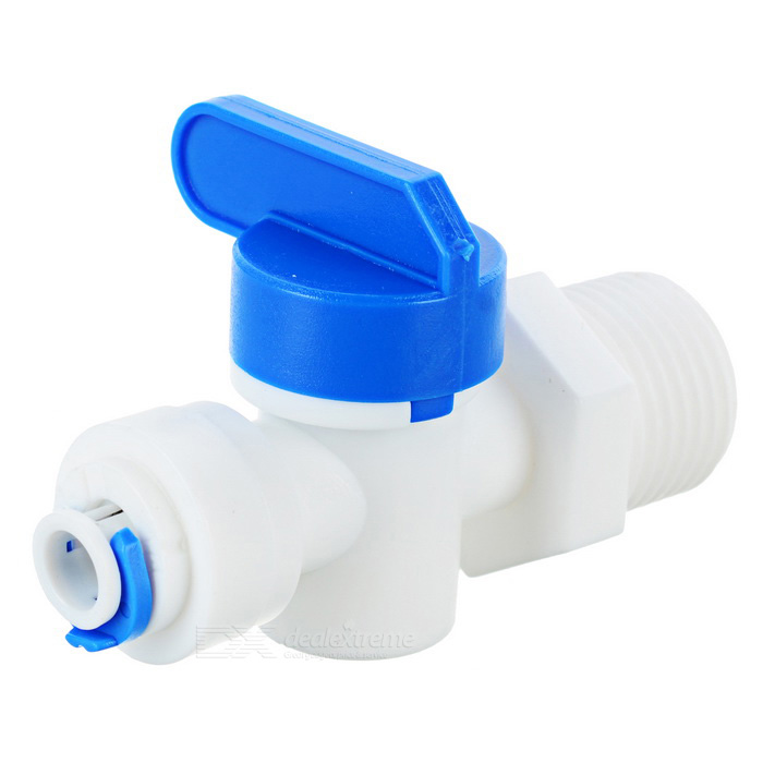 "1/2"" Male to 1/4"" Pipe Quick Connector Ball Valve for Water Purifier"