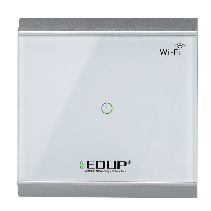 EDUP EP-3713 Wifi Switch Touch / Phone APP Controle 1 botão - branco
