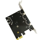DIEWU PCI-E на 4 порта USB + SATA 15 Pin Card Extension 3.0 - Black
