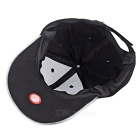Outdoor Luminous Green LED Flashing Sports Cap - Black + Blue